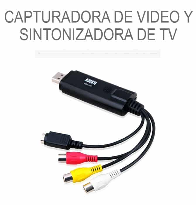 Tarjetas internas de sintonización de TV y captura de vídeo