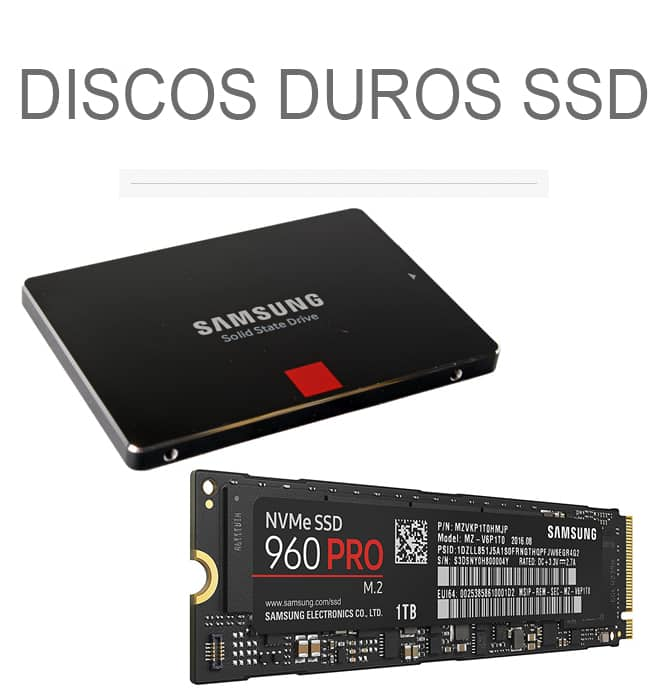 Discos duros sólidos (SSD)