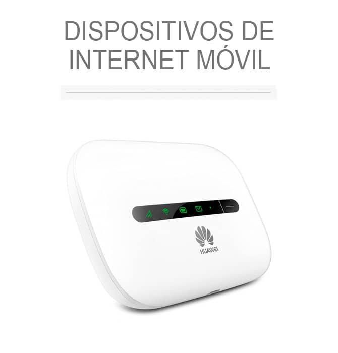 Dispositivos de internet móvil