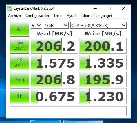 Disco duro tradicional HDD