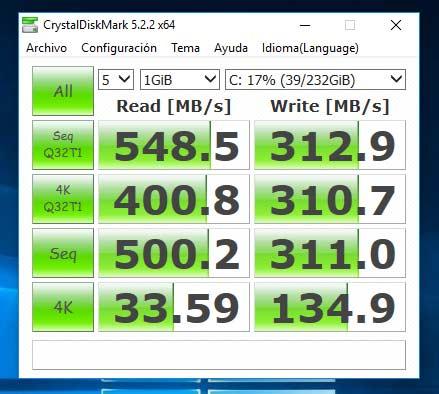 Disco duro de estado sólido SSD SATA