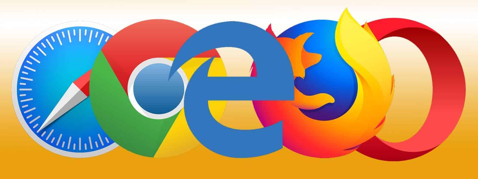 Los mejores navegadores web de 2018